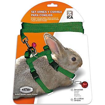 Ica Cablaggio per conigli (Roditori , Collari e pettorine)