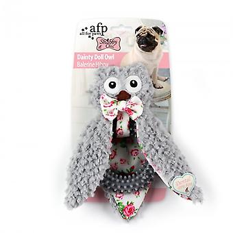 AFP Peluches Shabby Chic   Anistick Búho (Cani , Giochi e sport , Peluche)