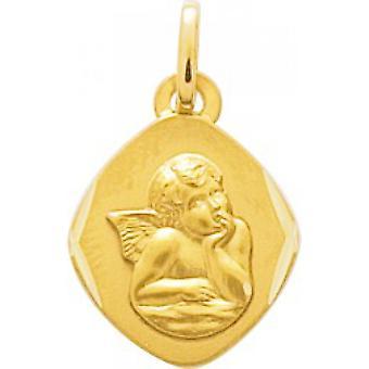 M daille angelo oro 750/1000 giallo (18K)
