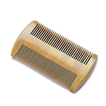 Beard Comb In Natural Wood. Natural Wood Colour. Standard And Fine Teeth. Mens Grooming -