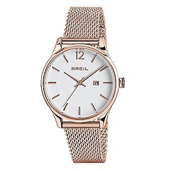 ברז קוורץ נשים שעון אנלוגי עם חגורת נירוסטה TW1568