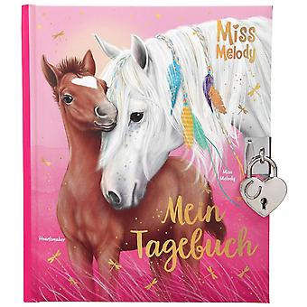 Depesche Miss Melody Childrens Diary With Code Lock In Pink