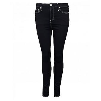 Wetlook svart PU Skinny bukser | Fruugo NO