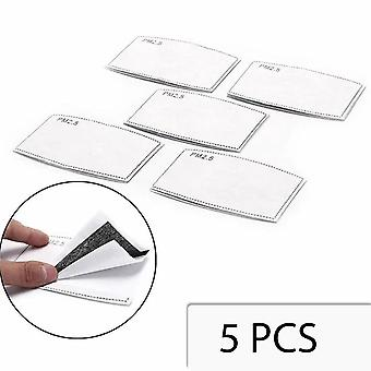 6 pieces PM 2.5 filters for face mask - mouth mask - n95