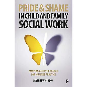 Fierté et honte dans le travail social de l'enfant et de la famille - Émotions et la mer