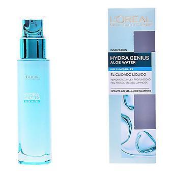 Feuchtigkeitsspendende und revitalisierende Lotion Hydra Genius Aloe Wasser L'Oreal Make Up/70 ml