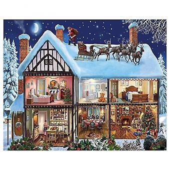 Christmas House 1000 Piece Jigsaw Puzzle