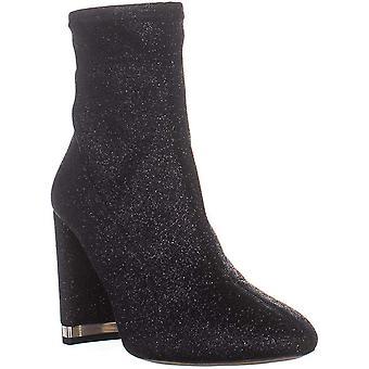 Michael Michael Kors Mulheres MANDY BOOTIE Tecido Redondo Toe Ankle Fashion Boots