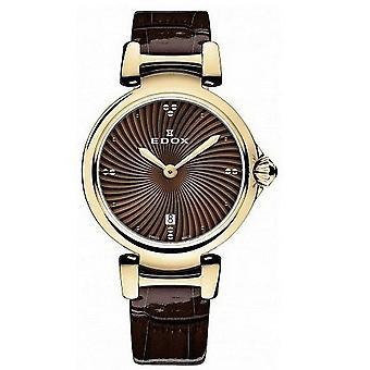 Edox Watches LaPassion 2 Hands Women's Watch 57002 37RC BRIR