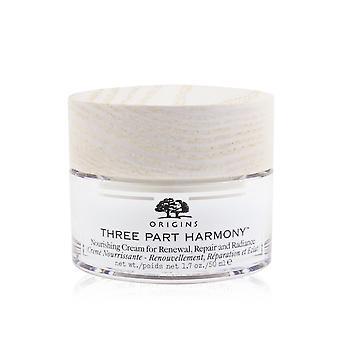 Driedelige harmonievoedende crème voor vernieuwing, reparatie en uitstraling 248531 50ml/1,7oz