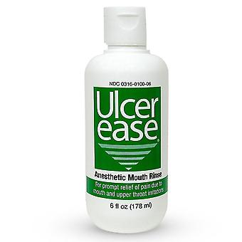 Ulcerease anesthetic mouth rinse, 6 oz