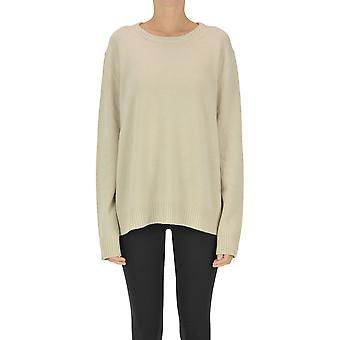 Aspesi Ezgl050093 Mujer's Beige Cashmere Suéter