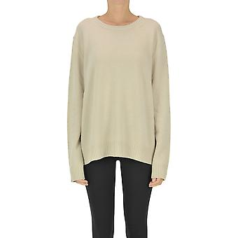Aspesi Ezgl050093 Women's Bege Cashmere Sweater