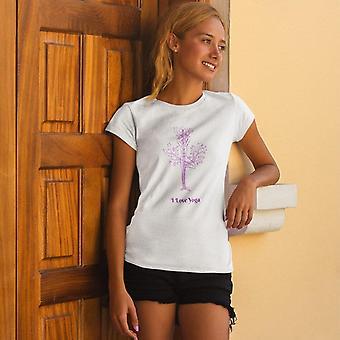 Tee-shirt Tri-Blend pour femmes et femmes | J'aime le yoga