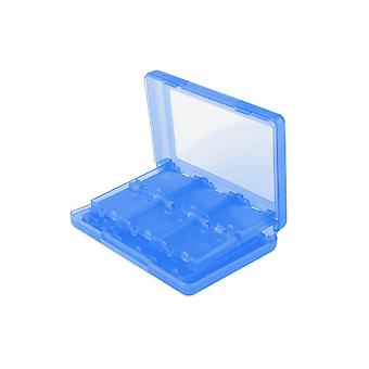 24 in 1 Game Card Case Holder Blue Box Nintendo 3DS DS Lite DSi & XL