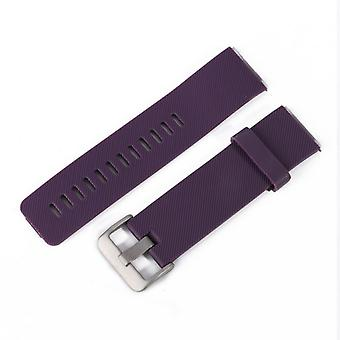 Replacement Wristband Bracelet Band Strap for Fitbit Blaze[Purple,Large]