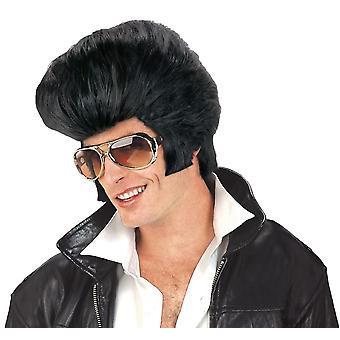 Jumbo perruque pour déguisement de Rock N Roll