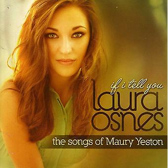 Laura Osnes - If I Tell You (Songs of Maury Yeston) [CD] USA import