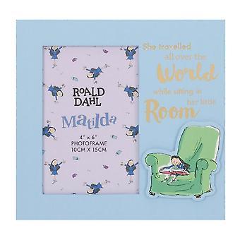 "Roald Dahl Matilda 4 x 6"" Photo Frame"