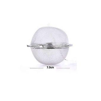 1pc Stainless Steel Mesh Tea Infuser Sphere - Locking Spice Tea Ball Strainer Tool Used in Daily Day to Day Life