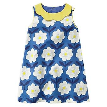 Infant Ruffled Short Sleeved Party Dress With Pockets
