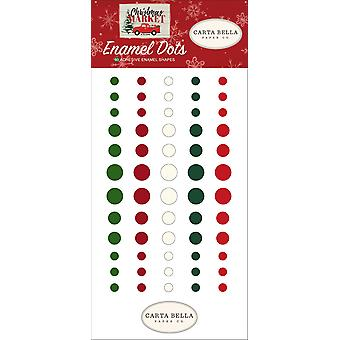 Carta Bella Christmas Market Enamel Dots