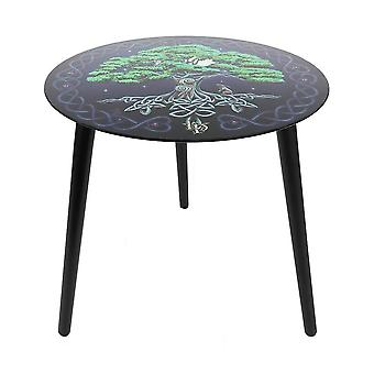 Lisa Parker Tree of Life Glass Table