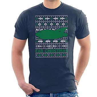 Thunderbirds hebben een fab Christmas Thunderbird 2 mannen ' s T-shirt