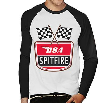 BSA Spitfire Men's Baseball Long Sleeved T-Shirt