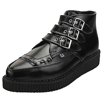 T.U.K Pointed Creeper Unisex Creeper Shoes in Black