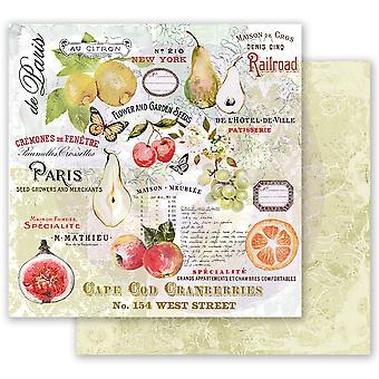 Prima Marketing Fruit Paradise 12x12 Inch Sheets The Special