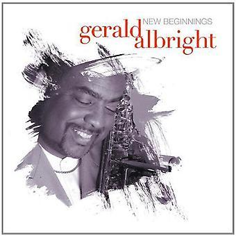 Gerald Albright - New Beginnings [CD] USA import