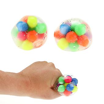 Squeezy Clampball Stress Ball Antistress Ball 1e 6cm