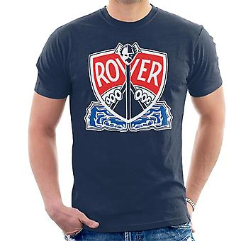 Rover Logo With Border British Motor Heritage Men's T-Shirt