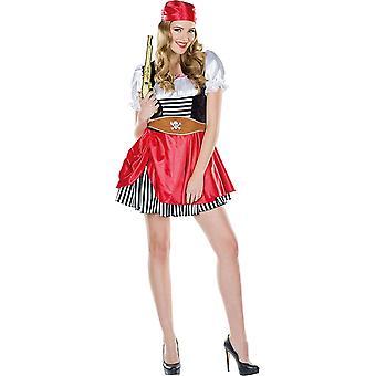 Pirate Kvinders Pirate Kostume Carnival