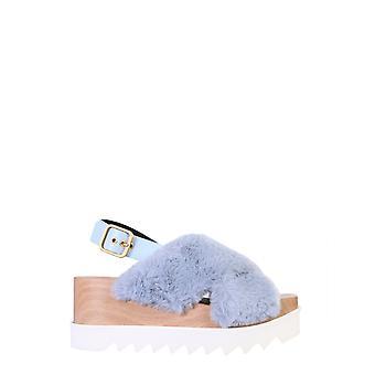 Stella Mccartney 800005n01584210 Dames's Lichtblauwe Polyester Sandalen