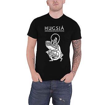 Ivar Bj?rnson & Einar Selvik T Shirt Hugsj? new Official Mens Black