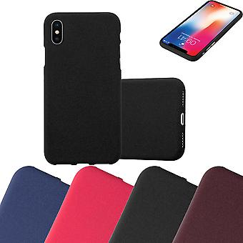 Cadorabo Case for Apple iPhone X / XS Case Cover - Mobile Phone Case made of flexible TPU silicone - Silicone Case Protective Case Ultra Slim Soft Back Cover Case Bumper