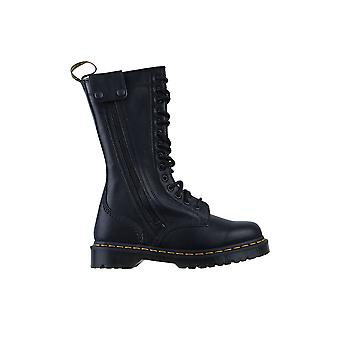 Dr Martens Hanley Botas de Cuero Alto 26360001 zapatos universales de invierno para mujer