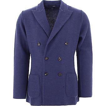 Lardini Imljm57im55001830 Men's Blue Wool Blazer