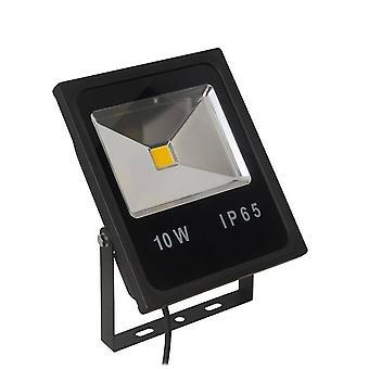 LED 1 Ljus Flood Ljus Utomhus Spotlight Svart IP65
