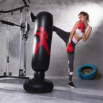 Puhallettava fitness nyrkkeily sarake pvc paksuuntuminen tumbler taistella sarake vent lelu