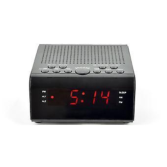 Lloytron Sunrise PLL Alarm Clock Radio (Model No. J2007BK)