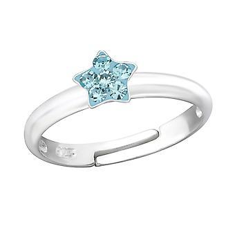 Звезда - 925 стерлингового серебра кольцо - W24013x