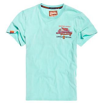 Superdry Limited Icarus Hyper Classics T-paita - Uima-allas Sininen-Medium