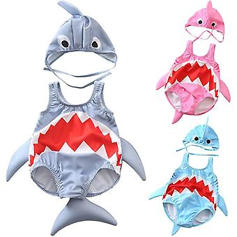 Baby Swimwear Peuter Cartoon Shark Bikini Baden
