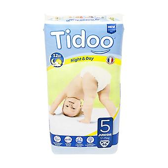 Junior Night & Day Diapers (T5) 12-25kg 46 units (T5 (12-25 kg))
