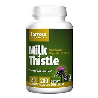 Jarrow Formulas Milk Thistle, 150 mg, 200 Caps