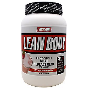 LABRADA NUTRITION Lean Body Meal Replacement Formula, StrawBerry 2.47 lb