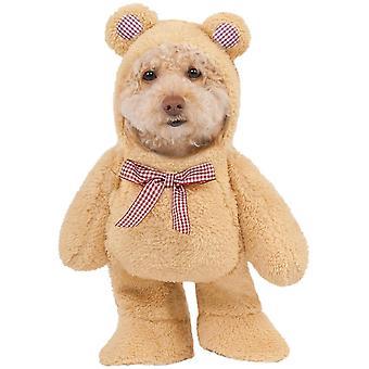 Rubies Halloween Fancy Dress Pet Costume - Walking Teddy Bear